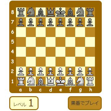 チェスゲーム - チェス入門β
